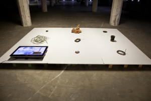 Skills of Economy - Post Models: Ore.e Refineries, installation view, SIC space